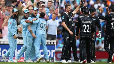 ENG vs NZ Head-to-Head Record: Ahead of ICC CWC 2019 Clash, Here Are Match Results of Last 5 England vs New Zealand Encounters!
