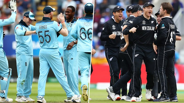 England vs New Zealand, ICC Cricket World Cup 2019 Final: CWC Set For a First-Time Champion as Eoin Morgan And Co. Take On The Black Caps at Lord's