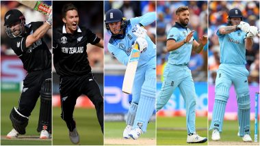 From Kane Williamson to Jason Roy, 5 Players Who Can Be Match Winners in England vs New Zealand, ICC Cricket World Cup 2019 Match