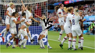 England vs USA, FIFA Women's World Cup 2019 Live Streaming: Get Telecast & Free Online Stream Details of ENG vs USA Semi-Final Football Match in India