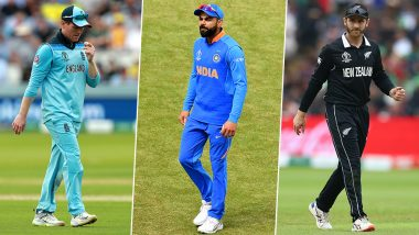 India in Semi-Finals: Who Will India Play in CWC 2019 Semis? Take a Look at the Possibilities Ahead of the Team's Last League Game Against Sri Lanka