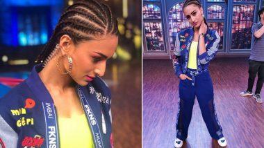 Erica Fernandes Sports a Cool Cornrow Hairstyle on the Sets of Khatra Khatra Khatra (View Pics)