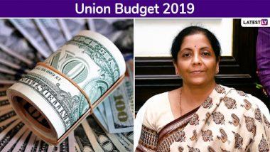 Union Budget 2019: Nirmala Sitharaman Advocates FDI Push to Make India 5 Trillion Dollar Economy by 2024, Mulls Structural Reforms