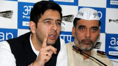 Raghav Chadha Challenges Election Result of South Delhi Lok Sabha Seat, Wants Court to Set Aside Ramesh Bidhuri's Victory