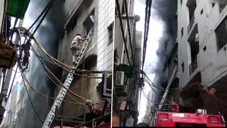 Delhi Fire: 3 Dead After Blaze Engulfs Rubber Factory in Jhilmil Industrial Area