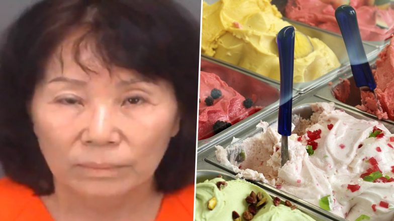 Florida woman picks nose, sticks fingers in ice cream