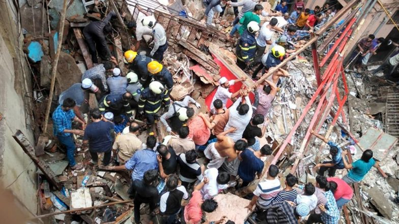 Mumbai Building Collapse: 4 Dead, 8 Injured After Building Collapses in Dongri, PM Narendra Modi Condoles Deaths