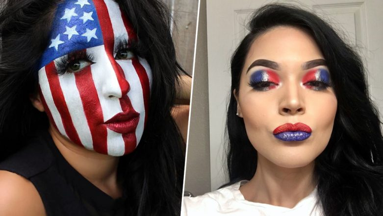 Fourth Of July Makeup Looks Easy Ideas And Tutorials For American Independence Day 2019 That Are Just Fireworks Latestly