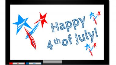 Happy 4th of July 2019 Quotes & Wishes: Fourth of July Greeting Cards, WhatsApp Stickers, GIF Image Messages to Celebrate American Independence Day