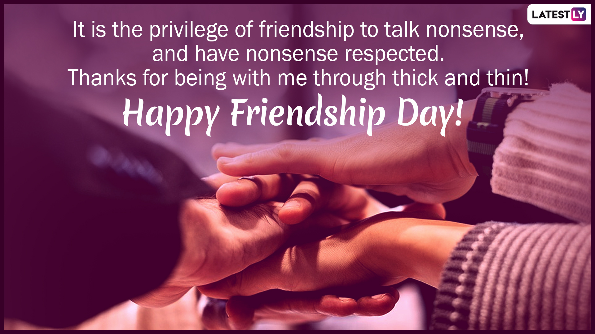 Happy World Friendship Day 2019 Wishes: WhatsApp Stickers, GIF Image