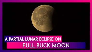 Lunar Eclipse on July 16, 2019: What Is A Partial Lunar Eclipse & A Full Buck Moon?