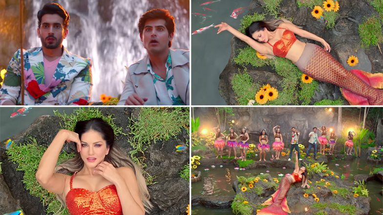 Jhootha Kahin Ka Song Funk Love Teaser: Sunny Leone Turns into a Mermaid in this Nursery Rhyme Remake (Watch Video)