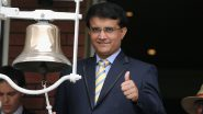 Sourav Ganguly to Take Charge of BCCI Office as the New President on October 23, 2019