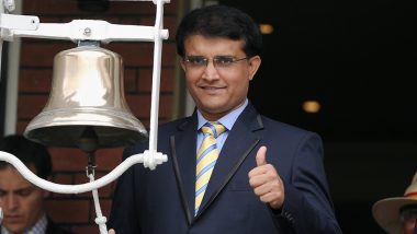 Sourav Ganguly Unhappy With Decision To Send Hardik Pandya Ahead of MS Dhoni as Team India Wickets Tumble During IND vs NZ Match in ICC CWC 2019