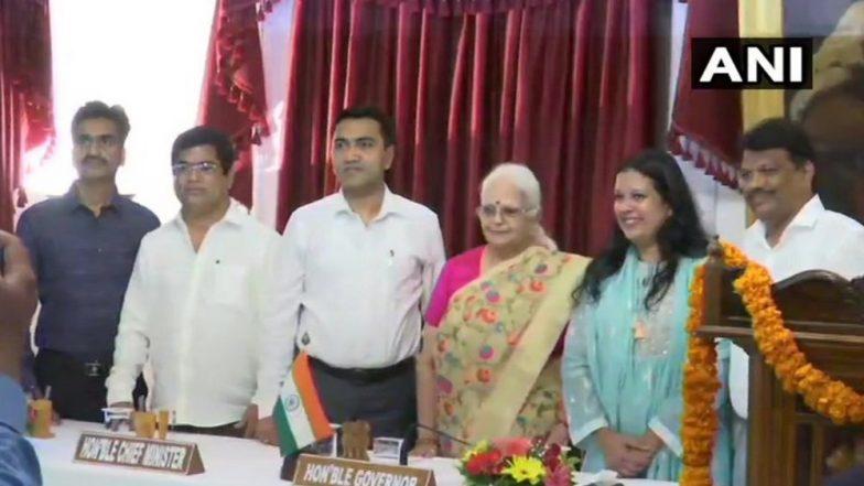 Goa Cabinet Reshuffle: 3 Former Congress MLAs, Ex-Assembly Deputy Speaker Michael Lobo Take Oath As Ministers