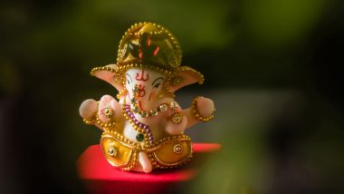 Ganpati HD Images for July 2019 Sankashti Chaturthi: Wishes, Messages, Ganesha Wallpapers, WhatsApp Stickers and GIF Greetings to Send on Auspicious Day