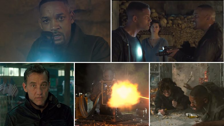 Gemini Man New Trailer: Will Smith Tries to Save Will Smith as Jaden's Song 'Icon' Plays in the Cool New Footage (Watch)