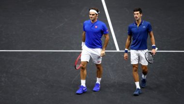 ATP Finals 2019: Novak Djokovic Defeats Matteo Berrettini in the First Match While Roger Federer Loses to Dominic Thiem