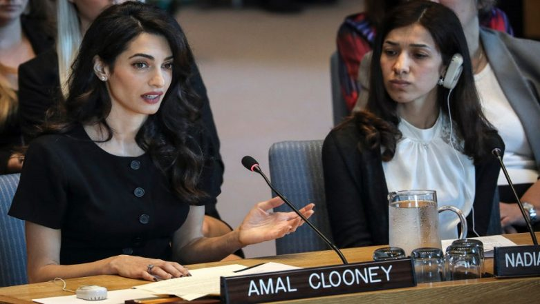 Amal Clooney to Join Legal Team of Philippine Journalist Maria Ressa Facing Criminal Charges With Her Website 'Rappler'