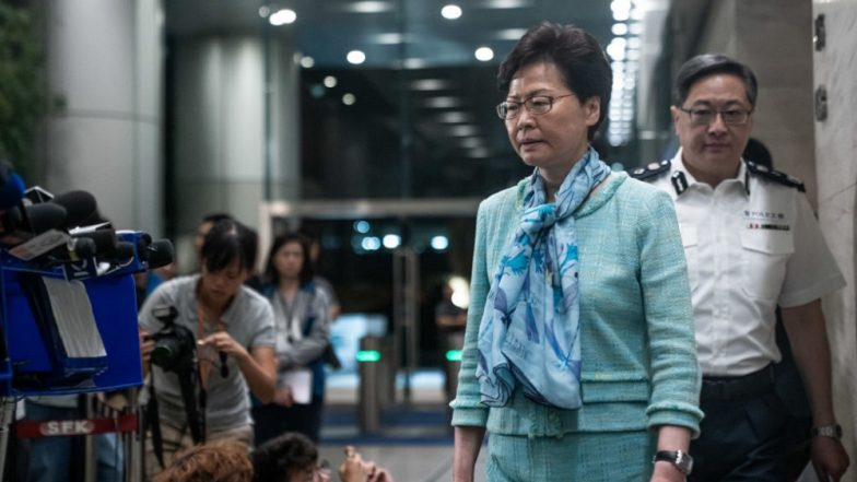 Hong Kong Leader Carrie Lam Says China Extradition Bill 'Dead'