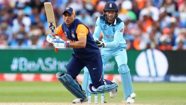 Sanjay Bangar Backs MS Dhoni's Batting Ahead of IND VS BAN, CWC 2019 Tie (Watch Video)