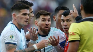 Argentina vs Chile, Copa America 2021 Live Streaming Online & Match Time in IST: How to Get Live Telecast of ARG vs CHI on TV & Free Football Score Updates in India
