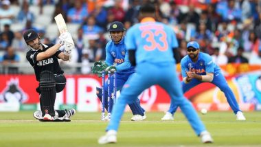India vs New Zealand, ICC CWC 2019 Semi-Final: Ex-Cricketers Lash Out at 'Awful' Old Trafford Wicket As Kiwis Fail to Score Big