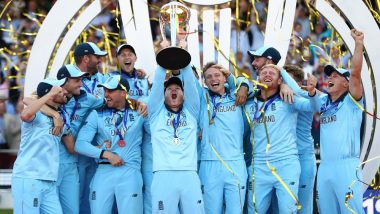 This Day in 2019: England Win ICC Men's ODI World Cup on Basis of Boundary Countback
