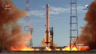 Russia Launches Space Telescope From Kazakhstan