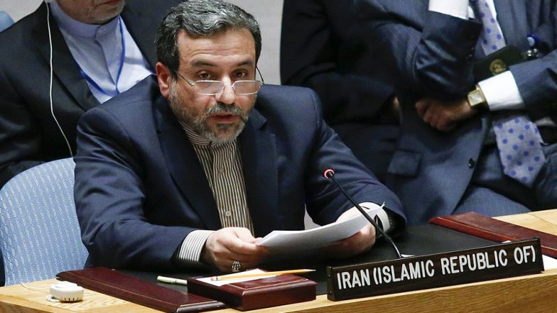 Iran Deputy Foreign Minister Abbas Araghchi Hints US Downed 'Own' Drone 'By Mistake'