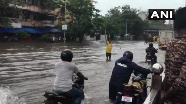 Mumbai Rains: Local Train Services, Road Traffic Hit Hard Due to Heavy Rains and Water-Logging