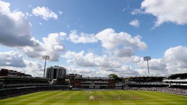 COVID-19 Outbreak: Lord's Cricket Ground Giving Parking Space to Medical Staff