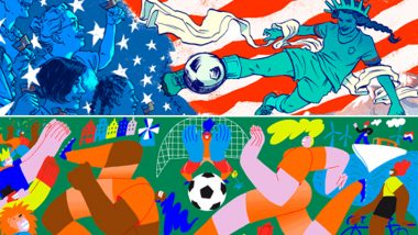 FIFA Women's World Cup 2019 Final Schedule Google Doodle Is Beautiful! Know All About USA vs Netherlands Fixture