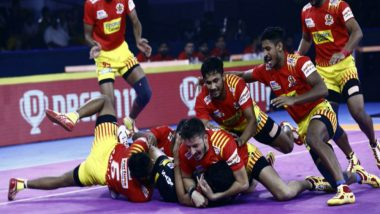 PKL 2019 Dream11 Prediction For Gujarat Fortune Giants vs Telegu Titans Match: Tips on Best Picks For Raiders, Defenders and All-Rounders For GUJ vs HYD Clash