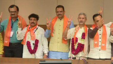 Gujarat Rajya Sabha By-Elections Results: BJP Claims Victory, Subrahmanyam Jaishankar, Jugalkishore Thakor Thank MLAs For Support
