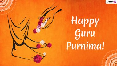 Happy Guru Purnima 2020 HD Images, Greetings & Wallpapers: Vyasa Purnima Quotes, Photos, and Messages You Can Send Your Teachers as a Thank You