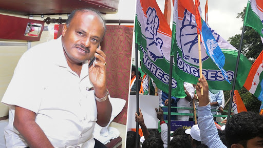 Karnataka Crisis: Political Turmoil Deepens As JDS-Congress Coalition Close to Losing Majority, BJP Seeks Governor's Intervention