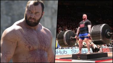 World's Strongest Man Hafthor Bjornsson's Workout and Diet Plan Will Make You Tough as the Mountain