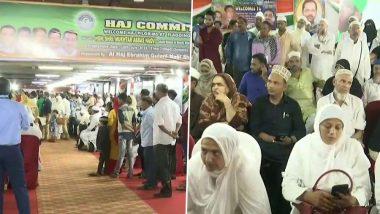 Haj 2019: First Flight From Mumbai to Depart on Sunday, Haj Committee Organizes Flagging-Off Ceremony for Pilgrims
