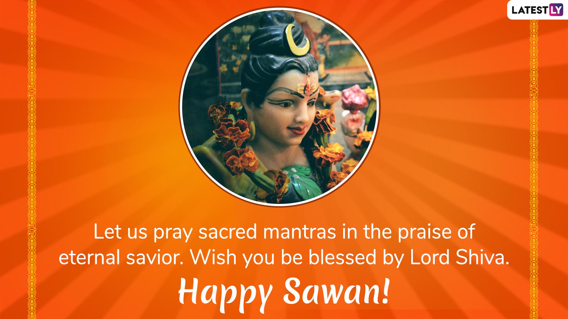 Happy Sawan Somvar 2019 Messages: WhatsApp Stickers, GIF