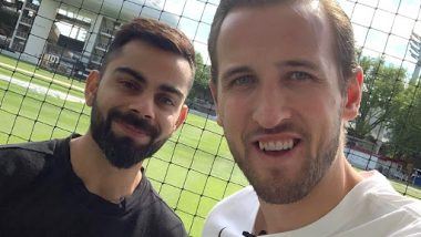 Tottenham Hotspur's Harry Kane Wishes Virat Kohli on His 31st Birthday; Posts a Message on Social Media