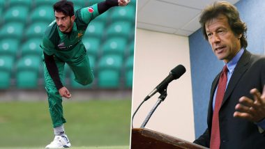 Happy Birthday Hassan Ali! Pakistan Pacer Thanks PM Imran Khan for Inducting Him in National Youth Council (Watch Video)