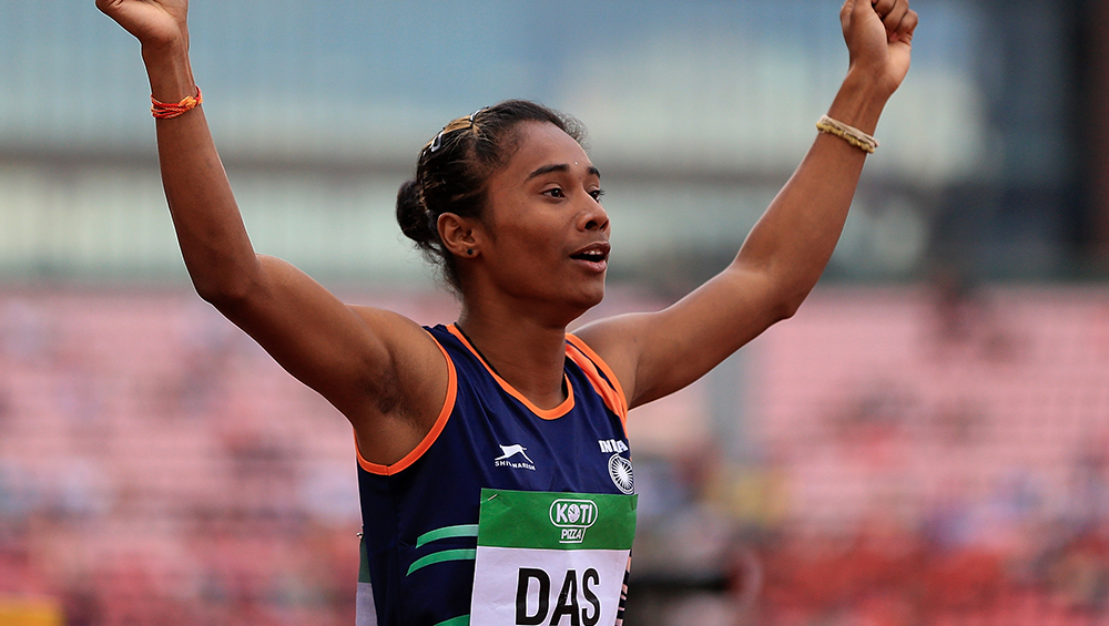 Hima Das Ruled Out of World Atheletics Championships 2019 Due to Back Injury