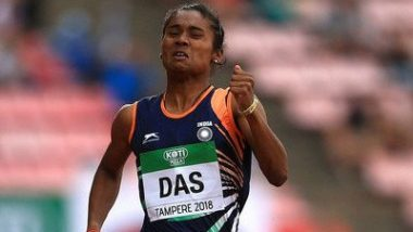 Hima Das Bags Gold in 200 Metre Race at Poznan Athletics Grand Prix 2019 in Poland