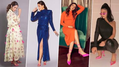 Hot Pink Shoes Are a Big Hit Among Celebs From Kylie Jenner to Kareena Kapoor Khan to Hina Khan! View Pics