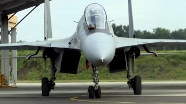 Indian Air Force's (IAF) Sukhoi 30 Flies With Rafale During Indo-French 'Garuda' Exercise