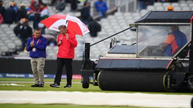 India vs New Zealand 2019 ICC CWC Semi-Finals Play Called off for the Day Due to Rains; Fans Flood Twitter With Funny Memes and Jokes