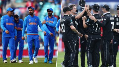 India vs New Zealand World Cup Head-to-Head: Ahead of ICC CWC 2019 Semi-Final Here's a Look Back at Previous IND vs NZ WC Clashes