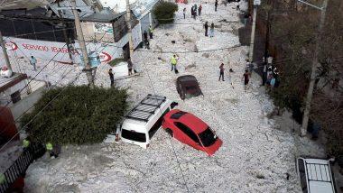 Mexico: Freak Hail Storm Strikes Guadalajara, 50 Vehicles Buried, 200 Homes Damaged