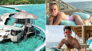 Joe Jonas and Sophie Turner's Exotic Honeymoon Pictures From Maldives Are Too Hot to Handle
